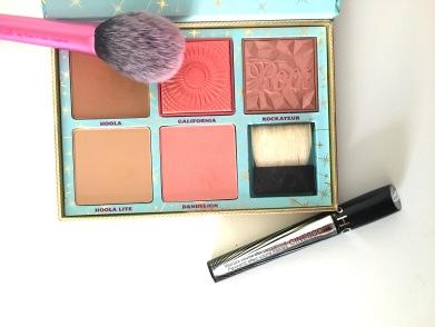 blush mascara